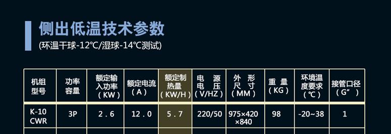 清华王牌煤改电空气能21