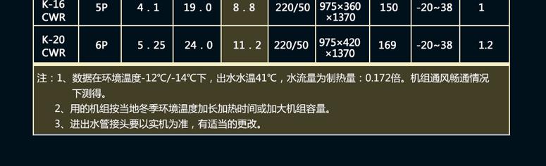 清华王牌煤改电空气能22