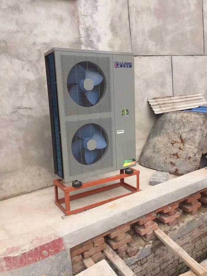 煤改电空气能安装案例