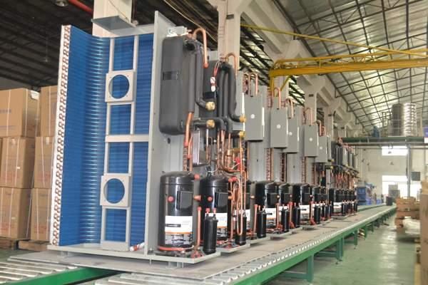 变频空气能煤改电