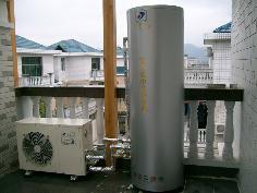 家用空气能热水器 - 湖南别墅热水工程