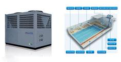 泳池空气能热水工程机组