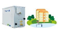 20P水源热水工程机组,学校宿舍热水系统,学校热水工程解决方案,学校太阳能热水系统,
