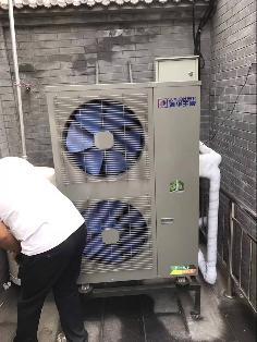 煤改电空气能聚阳公司用户安装案例