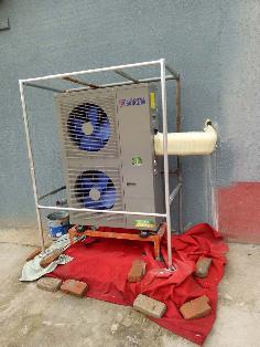 聚阳王牌煤改电空气能安装案例