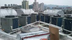 汕头市南澳县南帆酒店40T太空能热水工程
