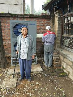 北京顺义聚阳王牌煤改电空气能安装用户案例