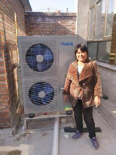 聚阳王牌煤改电空气能安装北京用户案例